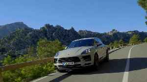 The new Porsche Macan in Crayon Driving Video [Video]