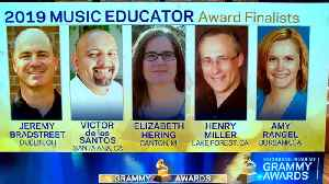 2019 Grammy Music Educator Award finalists revealed [Video]