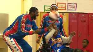 109-Year-Old Woman Parties With Harlem Globetrotters [Video]