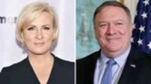 Mika Brzezinski Refers to Secretary of State Mike Pompeo as