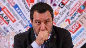 Italy's Salvini Says He Will 'Renew A New Rome-Berlin Axis' [Video]