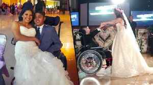 Texas Bride Dances With Her Terminally Ill Brother at Her Wedding [Video]