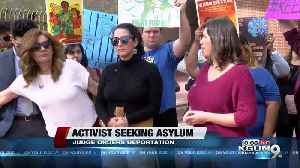 Nationally known immigration activist deportation ordered [Video]