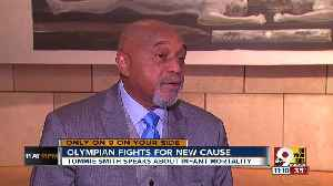 Activist Olympian Tommie Smith fights for a new cause [Video]