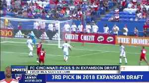 FC Cincy picks up 'key parts' in expansion draft [Video]