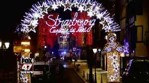 Strasbourg shooting: Gunman on the run, 3 dead [Video]
