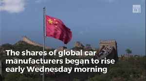 Car Companies Roar Back as China Blinks in Trade War, Proposes Enormous Drop in Auto Tariffs [Video]