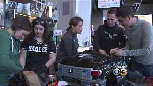 Eagles Helping Children With Disabilities Get Around For The Holidays [Video]