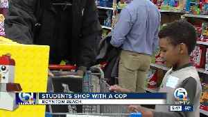 Students get to 'shop with a cop' in Boynton Beach [Video]