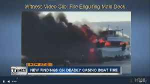 Maintenance and training blamed in boat fire [Video]