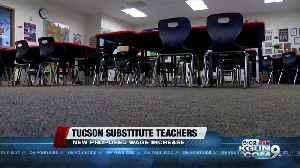 TUSD superintendent speaks on plan for substitute teacher wage increase [Video]