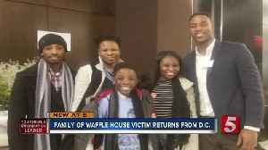 Family of Waffle House shooting victim visit D.C [Video]
