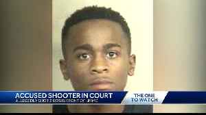 Man charged in shooting outside UMMC appears in court [Video]