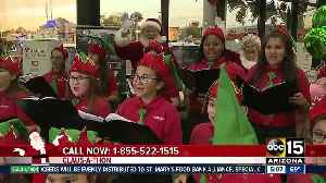 Claus-a-thon: Raising money to help organizations and families in need [Video]