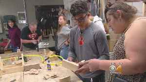 Class In Compassion: Woodworking Students Help Others With Special Needs [Video]