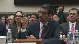 Congress Grills Google CEO On Political Bias And Privacy [Video]