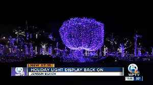 Jensen Beach mansion decorated in thousands of lights [Video]