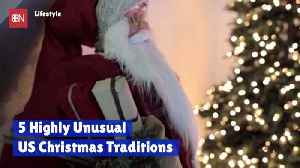 American Christmas Traditions That Are Just American [Video]