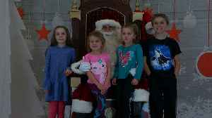 Make-A-Wish Kids Travel From MSP Airport To North Pole For Santa Visit [Video]
