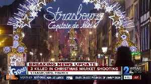 Strasbourg shooting: Gunman on the run after Christmas market attack that left 3 dead, 13 injured [Video]