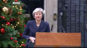 British PM May to face no-confidence vote [Video]