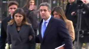 Ex-Trump lawyer Cohen arrives for sentencing [Video]