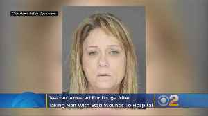 Teacher Arrested On Drug Charges After Showing Up At Hospital With Stabbed Man [Video]