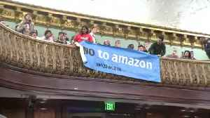 Web Extra: Protesters Interrupt City Council Hearing On Amazon Oversight [Video]