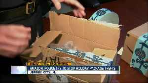 Police, Amazon team up to prevent holiday package thefts [Video]