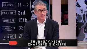 Thursday Night Football Preview Between The Chargers And Chiefs