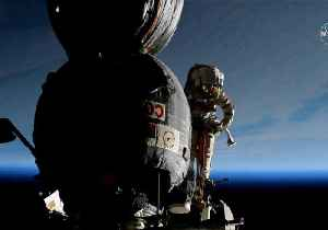 Cosmonauts Complete Outer Space 'Surgery' on Soyuz Craft [Video]