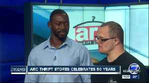 Arc thrift stores celebrates 50 years [Video]