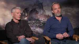 Hugo Weaving, Stephen Lang Discusss 'Mortal Engines' [Video]