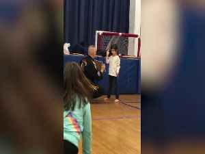 Aww – Girl gets so Excited when she does Karate! [Video]