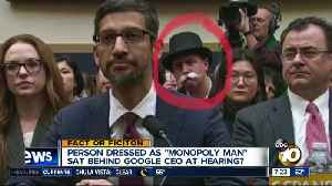 Monopoly Man at congressional hearing? [Video]