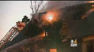 2 Firefighters Injured While Responding To 'Heavy Fire' In Worcester Home [Video]