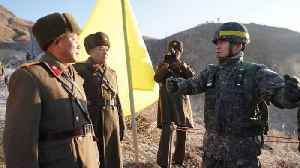 Soldiers From Both Koreas Cross DMZ for Historic Inspections [Video]