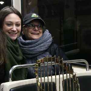 Best commute ever? Red Sox bring World Series trophy for a ride on the MBTA [Video]
