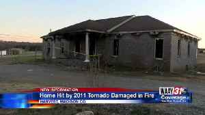 House hit by 2011 tornado damaged in fire [Video]