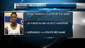 NIACC's Hardrict names ICCAC POTW [Video]