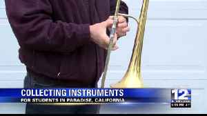 Rogue Valley Adventist Academy Collecting Instruments for Paradise Students [Video]