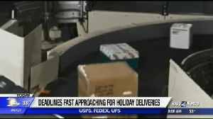 Important holiday shipping deadlines [Video]