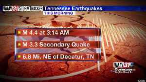 Earthquake in Tennessee [Video]