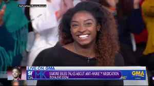 Simone Biles opened up about taking anti-anxiety medication, and who will host the upcoming Oscars. [Video]