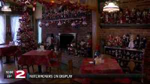 More than 600 nutcrackers on display at Tiny's Grill in Utica [Video]