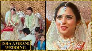LIVE : Isha Ambani Wedding INSIDE Video And Pictures [Video]
