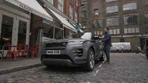 Jamie Oliver Driving The New Range Rover Evoque In London [Video]