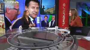 Italy's Conte promises to reduce deficit target to avoid EU sanctions [Video]