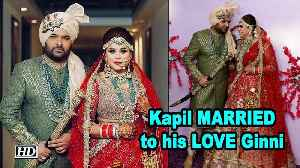 Kapil Sharma MARRIED to his LOVE Ginni Chatrath