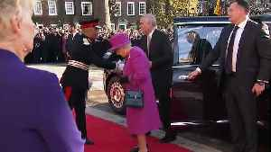 The Queen and Prince Andrew visit The Honourable Society [Video]